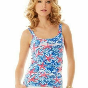 Lilly Pulitzer She Sells Sea Shells Tank